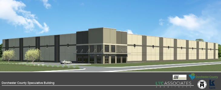 Spec Building Rendering