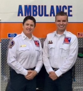 EMS Duo wins regional competition