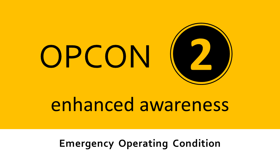 Emergency Operating Condition 3 - significant threat