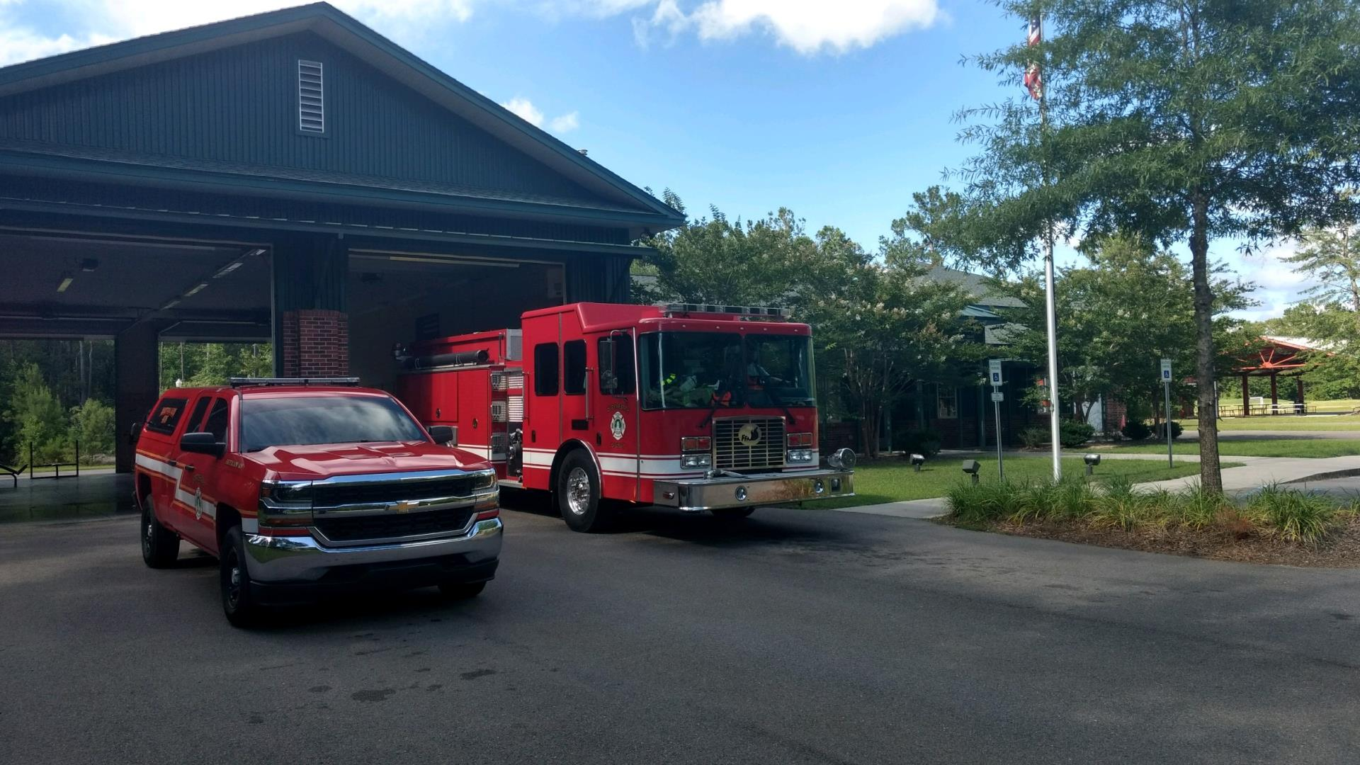 Fire Station 11 - Ponds | Fire Stations | Dorchester County