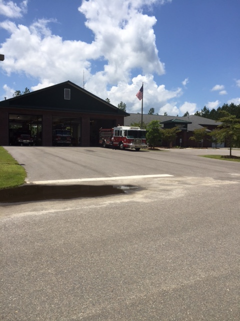 Fire Station 9 - St  George | Fire Stations | Dorchester County, SC