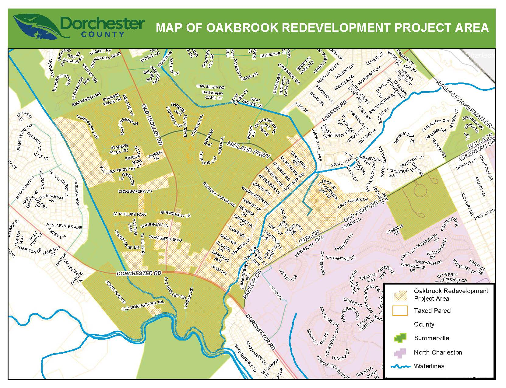 Oakbrook Redevelopment Project Area